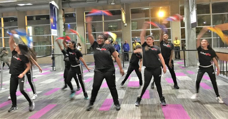 BalletRox youth council performs.