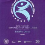 NAHYP Certificate of Excellence