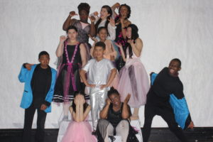 BalletRox youth dancers pose.