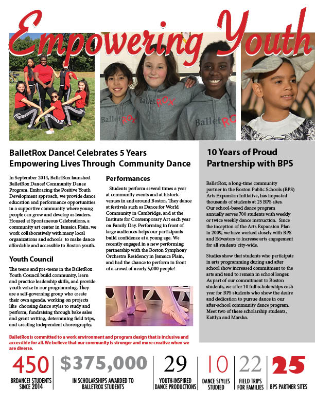 BalletRox 2019 annual report, page 2