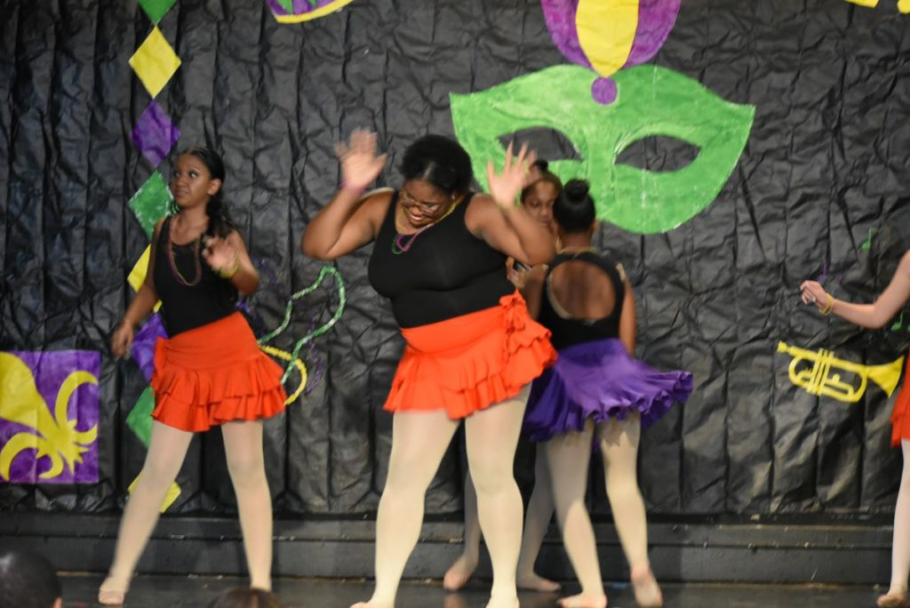BalletRox youth dance at the January 2020 recital. (Photo credit: Rachel Hassinger)